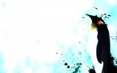 fond écran 01-pingouin