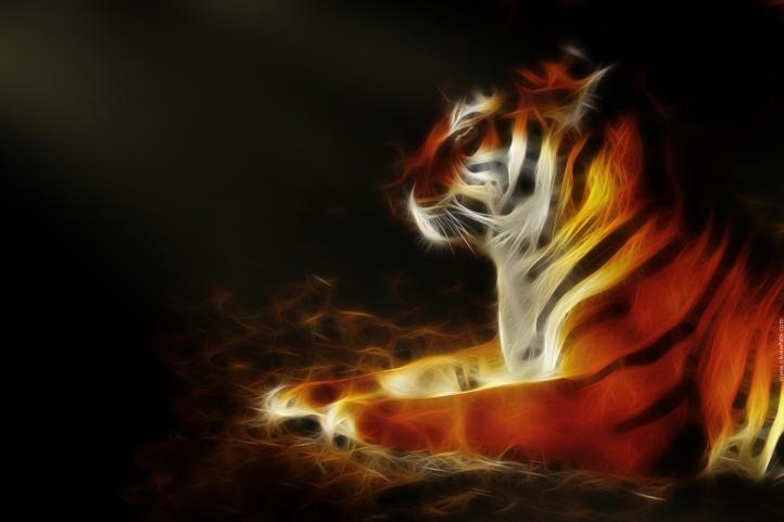 Tigry le Tigre fond écran wallpaper