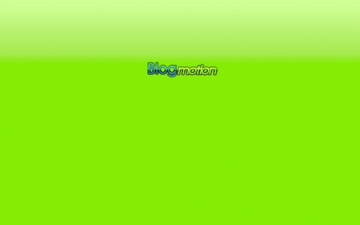 fond écran Blogmotion Green