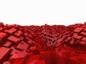 miniature Cubes rouges