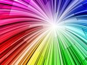 miniature Radial Rainbow