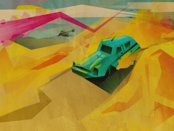 Road trip fond écran wallpaper