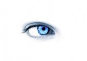 fond écran Blue Eye