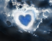 fond écran Coeur de Nuages 3