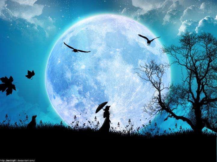 Fond D Ecran Gratuit Femme Dans La Lune Fonds D Ecran Art Digital Gratuits Femme Dans La Lune