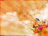 fond écran Fleurs