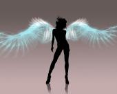 fond écran Un Ange