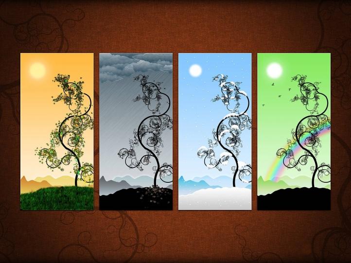 éléments naturels fond écran wallpaper