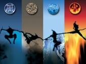 fond écran The Four Elements