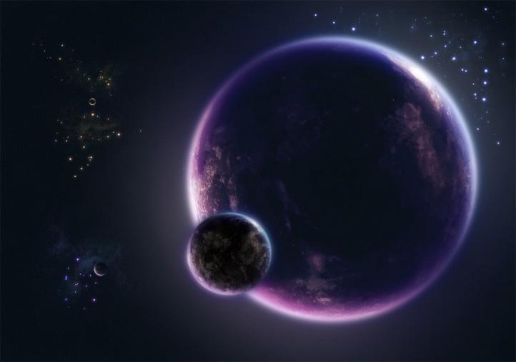 Digital Universe fond écran wallpaper