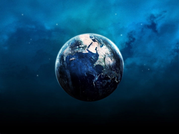 La Terre fond écran wallpaper
