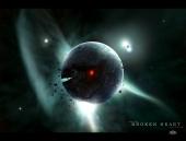 fond écran Planète morte