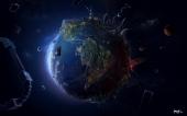 fond écran Terre imagée