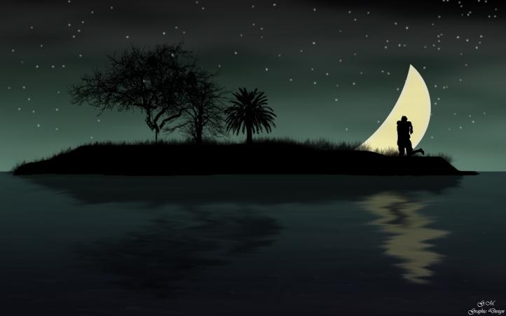 Summer Night fond écran wallpaper