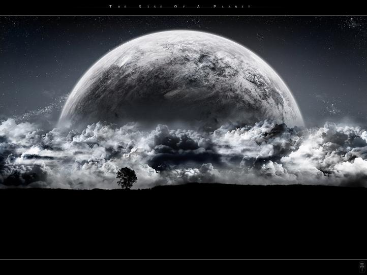 The Rise of a Planet.. fond écran wallpaper