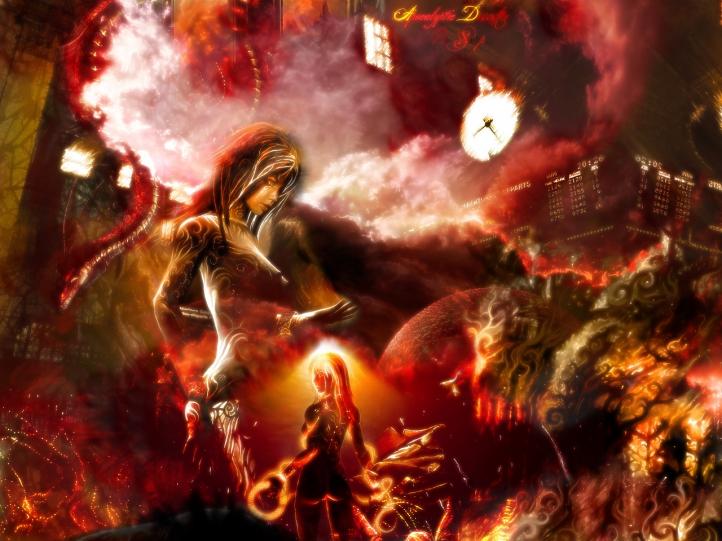 Apocalyptie Disaster fond écran wallpaper