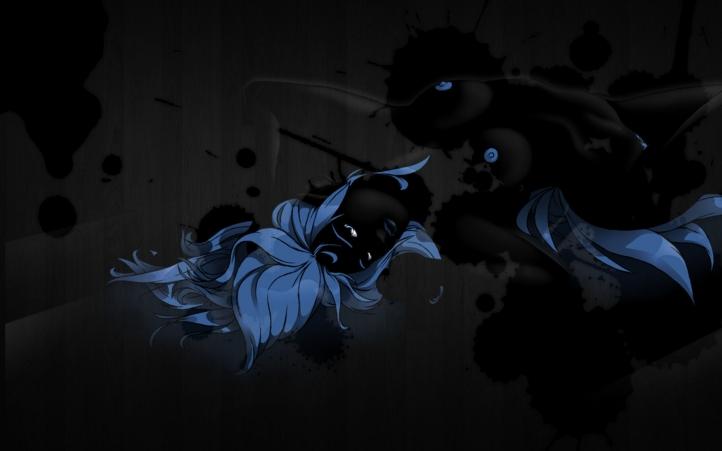 Coyote Encre Noire fond écran wallpaper