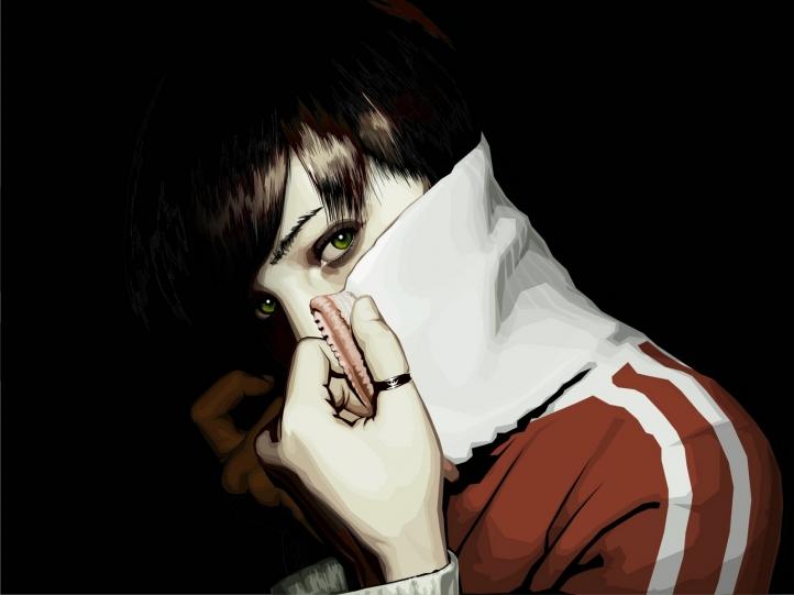 portrait femme fond écran wallpaper