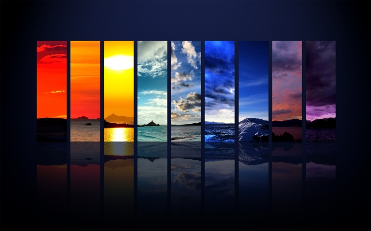 Spectrum Of The Sky fond écran wallpaper