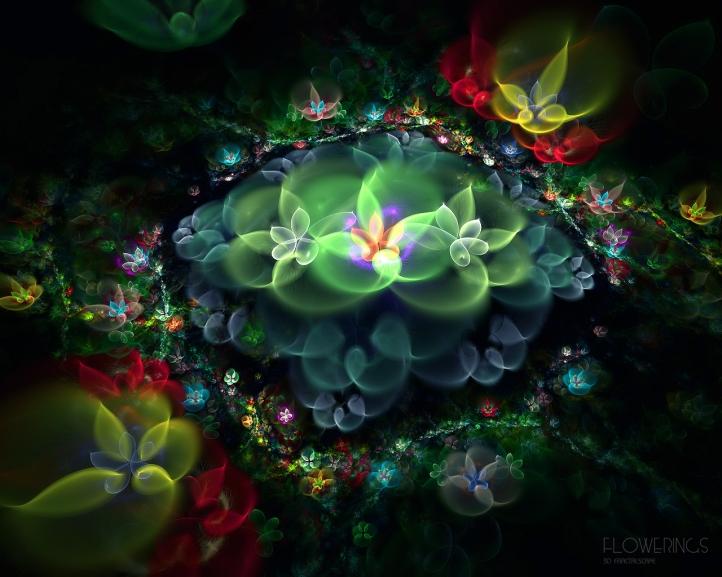 Flowerings 2 fond écran wallpaper