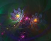 fond écran Flowerings