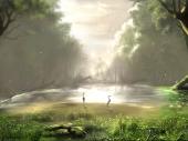 miniature paysage forestier