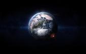 fond écran Terre de chaos