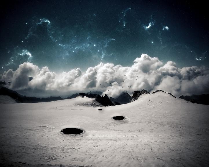 Montagnes fond écran wallpaper