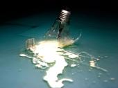 fond écran ampoule cassé