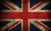 fond écran Britain Grunge Flag