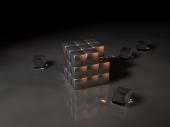 fond écran Cube