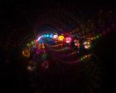 Note de musique en couleur