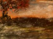 fond écran Pensée d'automne