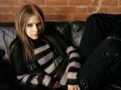 fond écran Avril Lavigne