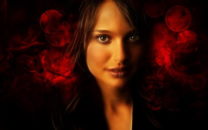 Natalie Portman fond écran wallpaper