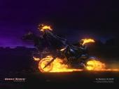 fond écran Ghost Rider