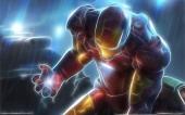 fond écran Iron Man Fractal