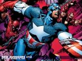 fond écran Avengers