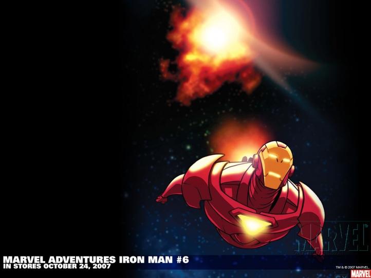 Iron Man Comics fond écran wallpaper