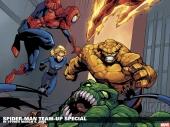 fond écran Spiderman Comics