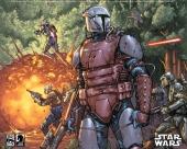 fond écran Star Wars Comics