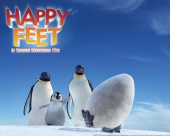 fond écran Happy Feet