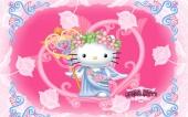 fond écran Hello Kitty