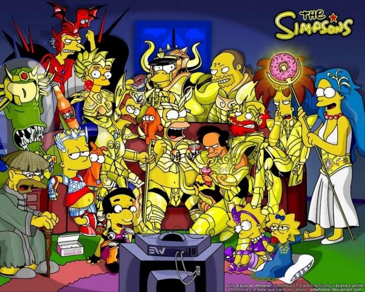 Fond d'écran gratuit les simpsons - Fonds d'écran dessins animés gratuits  les-simpsons-39