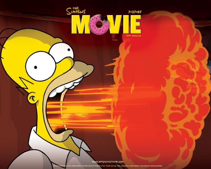 Les Simpsons fond écran wallpaper