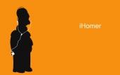fond écran iHomer Orange