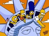 fond écran Les Simpsons