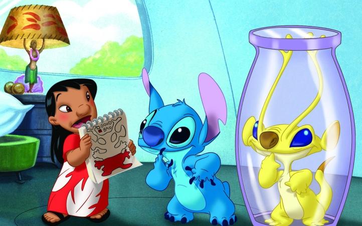 Lilo et Stitch fond écran wallpaper