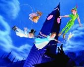fond écran Peter Pan