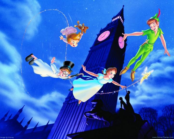 Peter Pan fond écran wallpaper